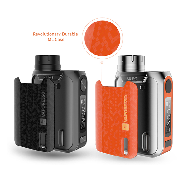 Chinese Supplier 100% Authentic Wholesale E Cigarette Vaporesso SWAG 80W Starter Kit with NRG SE Tank
