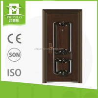 Modern design steel office entry doors with high quality from china