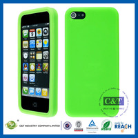 Crystal Cell Phone for iphone 5c case silicon