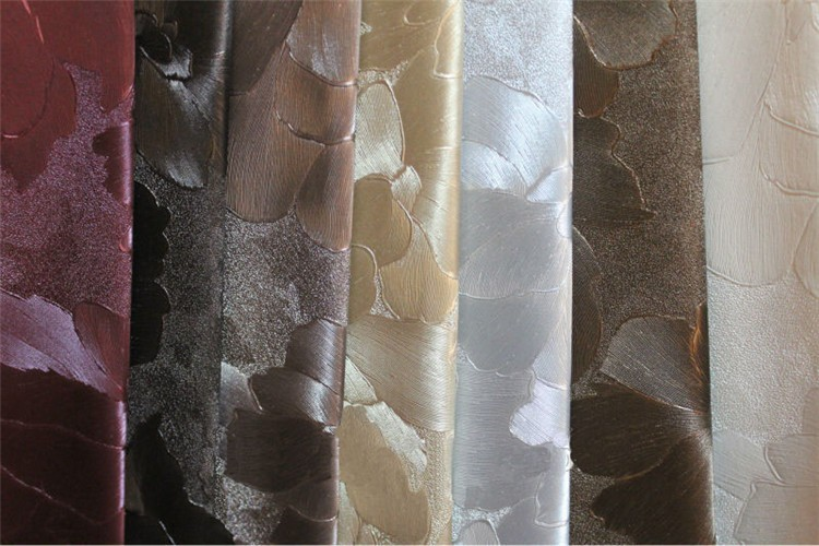 New products online shop china PU embossed floral leather embossing faux Leather for Decoration