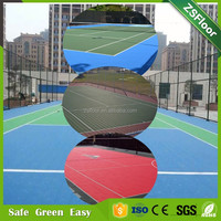 Manufacturer, sports tile, polypropylene outdoor interlocking flooring