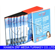 DVD Replication Packing with Printing Softcover Book Printing