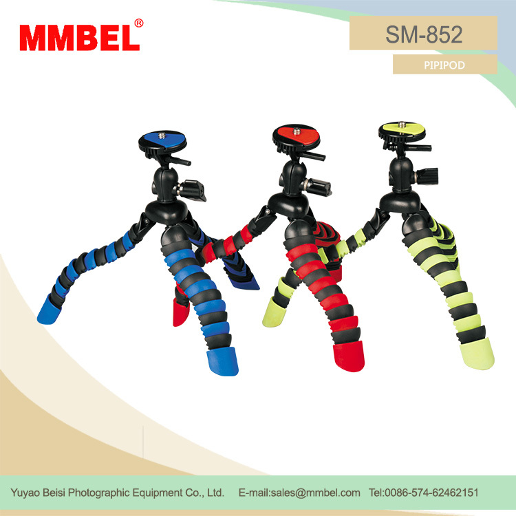 SM-852 High quality durable using various video camera tripod