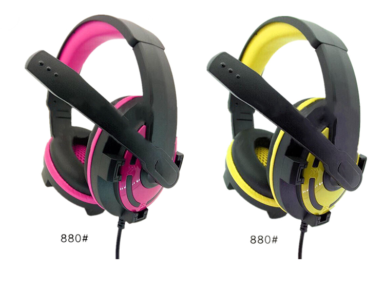 Professional Stereo 7.1 Channel Usb Gaming Headset with Mic