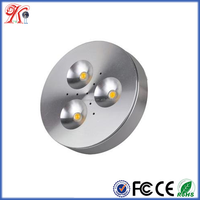 3W under cabinet led mini spot light LED puck light led magnetic cabinet light