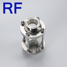 RF Alibaba Wholesale forged Welding Thread Clamp Sanitary Oil Level Sight Glass