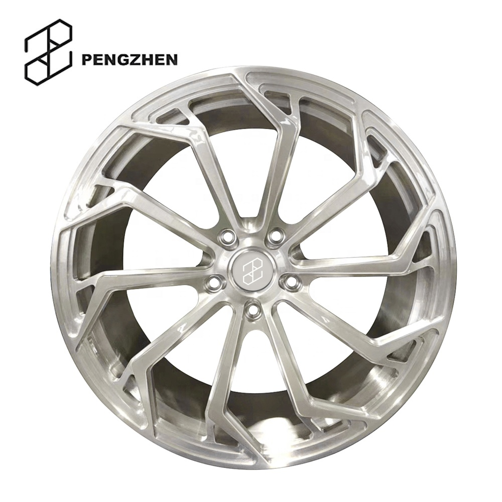 Forged car wheels <strong>17</strong> inch 5x112 brushed finishing
