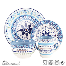 alibaba china wholesale Pakistan decal ceramic dinnerware,16pcs home goods dinnerware