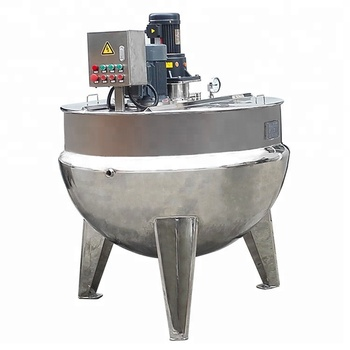 Wenzhou Factory Sale Cooking Kettle, Emulsifying mixing double jacketed kettle