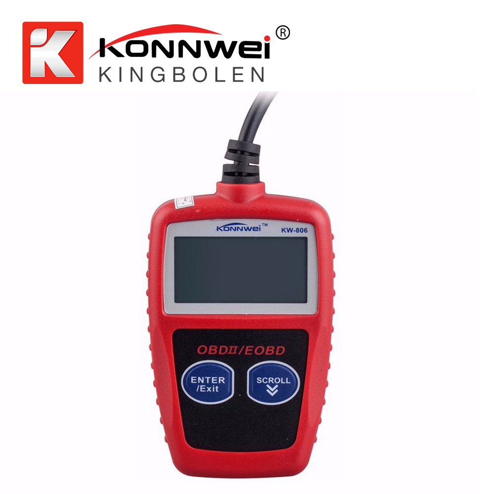 KONNWEI KW806 Car Code Reader CAN BUS OBD2 OBDII Diagnostic Scanner Tool Auto Scan Tool