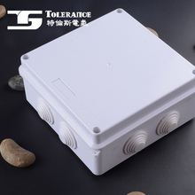 Plastic outdoor cable tv junction box electric enclosure