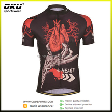 Custom professional crazy cycling jersey