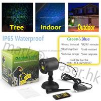 wholesale Wireless mini projector night star laser shower garden light