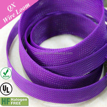 19mm braided PET expandable cable sleeving for protect wire harness