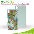 Sublimation Blank case for Sony Z3