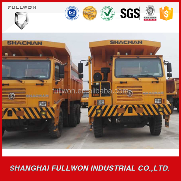 chinese popular 6*4 10-wheel shacman 80t dump truck for mining use