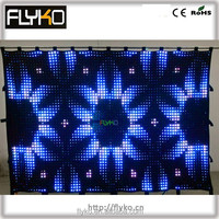 P5cm 2x3m aliexpress soft & fairy led light black curtain on latest chinese product