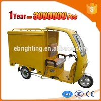 range per charge electric auto eco rickshaw with CE