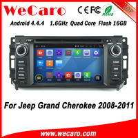 Wecaro WC-JC6235 Android 4.4.4 car gps 1080p for jeep grand cherokee car radio 2008 - 2011 Steering Wheel Control