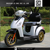 500w 48v 3 three wheel electric mobility scooter with 2 seat / 3 wheel electric scooter for old man and disabled
