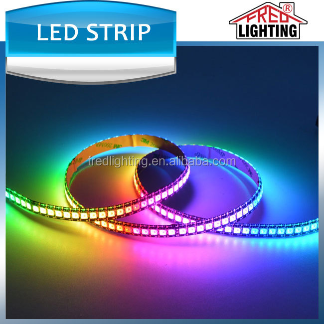 warranty 3 years smd5050 60 leds/m RGB 5V led pixel strip light