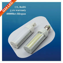 SMD 3528 factory price 13w g24 led pl lamp gz
