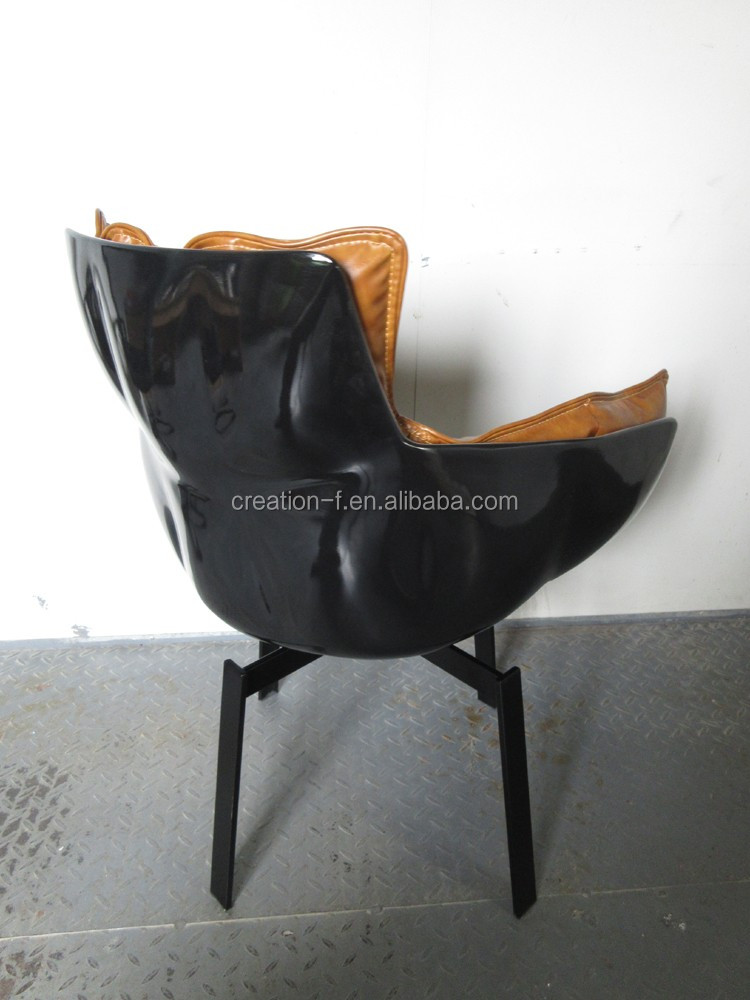 Replica Furniture Fiberglass Shell Husk Restaurant Dining armchair Chair