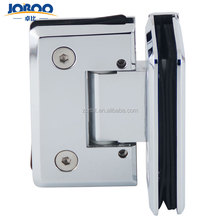 Adjustable glass door double side glass clamp shower hinge