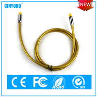 No radio wave and electromagnetic interference ROHS&CE optical audio cable