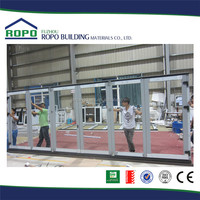 China fuzhou 2015 fashion excellent material folding door outside