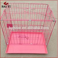 Factory wholesale pet house travel transport dog cage