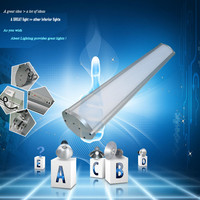Dimmable LED Tube IP65 Rate High Quality SMD LED Chips High Effective Internal Meanwell Driver