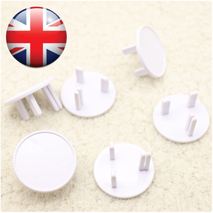 ABS material BS socket protect cover and baby safe outlet plug cover