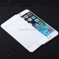 Wholesale Best 9H Hardness Mobile phone Tempered glass 3D Screen protector for 6S