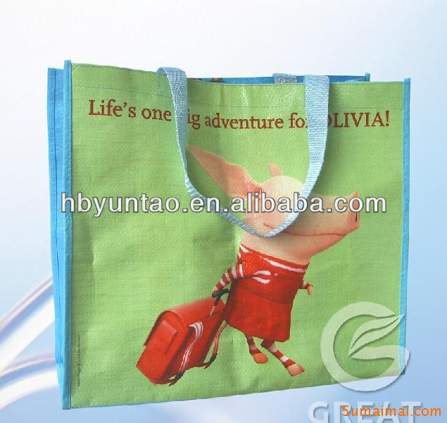 PP Woven shopping bag, High quality, Hot sale 2013 export worldwide , High quality, Hot sale 2013 export worldwide