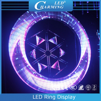 Muli-size disco/club/wedding party stage led big ring display P5.75 led screen light