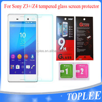 wholesale price!! for Sony Z3+ Z3 PLUS Z4 Tempered Glass Film Screen protector