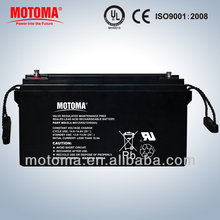 dry cell deep cycle battery 12V