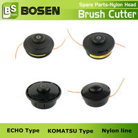 2 Storke/4 Stroke Gas Grass Trimmer Nylon Head ECHO Type of Grass Trimmer Spare Parts