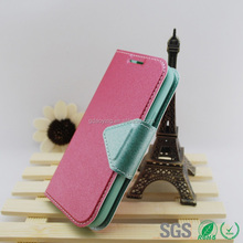 Colorful leather case for Sumsung S4mini i9190