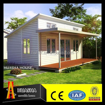 China manufacturer prefabricated granny flat steel structure building house