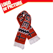 Custom Norway Soccer team super fans cheer scarf/Banner