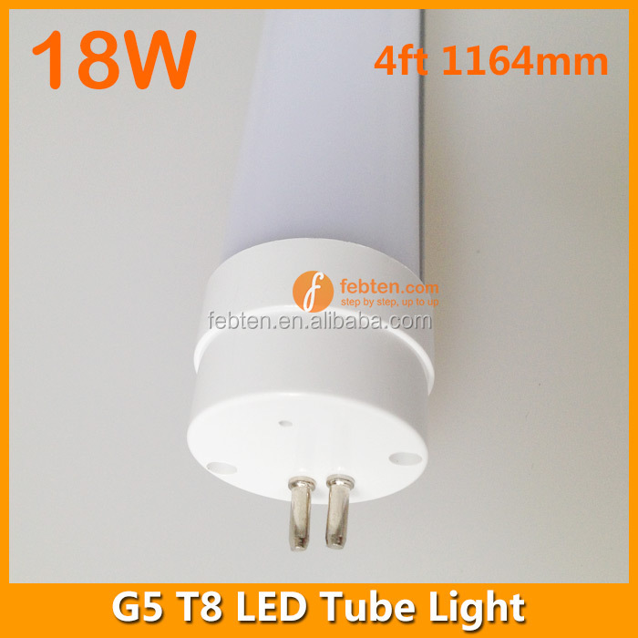 End Cap G5 Instant Fit/Direct Replacement Led Tubes/Led Lamp G5 18W