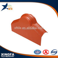 Low price modern ridge cap tile in roof tiles