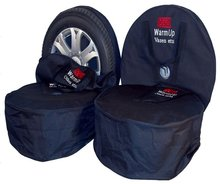 PVC or polyester Oxford fabric wheel cover