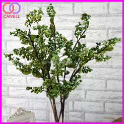 2016 hot selling wholesale christmas decoration green sprays artificial berry