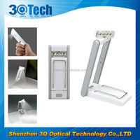 DH-84009 mini book Reader LED Reading Book Light with Clip Flexible book lamp