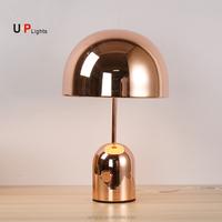New design decoration copper hotel bedroom table lamp