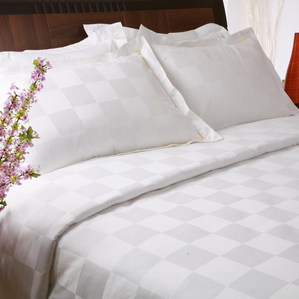 WHITE luxury hotel bedding bedcover bed sets duvet cover sets 100% cotton king size sheet sets
