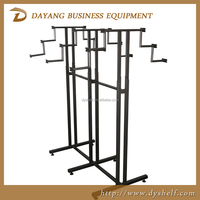good quality metal hanging clothes rack, clothing displays, clothing display rack/warehouse racks shelf